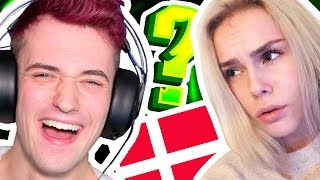 I SPOKE DANISH TO HER!! - Q&A WITH MY GIRLFRIEND!!