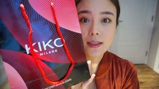 KIKO MILANO cosmetics review and swatches | 性价比好物——KIKO彩妆分享