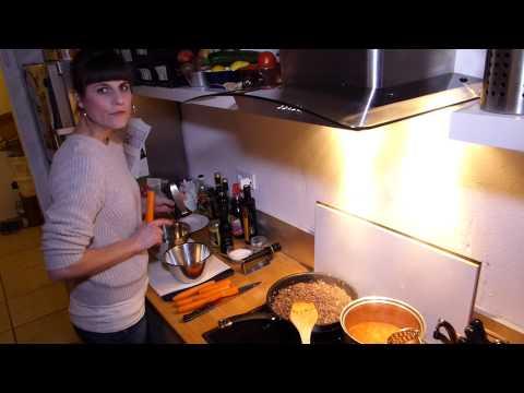 Paleo Food - Zucchini-Karotten-Nudeln -