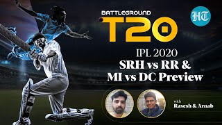 KXIP vs KKR & CSK vs RCB Review and SRH vs RR and MI vs DC Preview on Battleground T20