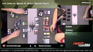 2015 Magic World Championship Round 10 (Draft): Jacob Wilson vs. Paul Rietzl