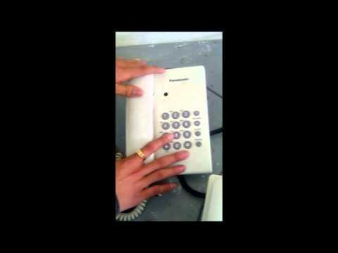 Programación de una Central Telefónica Panasonic