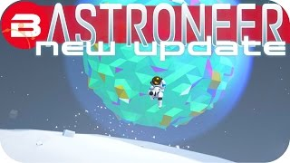 Astroneer Gameplay - NEW UPDATE: MOON DESTRUCTION PLANNING Lets Play Astroneer Experimental