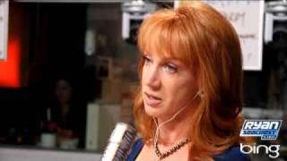 Кэти Гриффин на Ryan Seacrest - часть 1 | интервью | On Air с Ryan Secreast