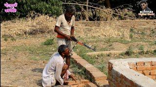 Bhojpuri comedy || एक कठा जमीन खातिर ईटा ऊलाटे में हुआ पडोसी से झागड़ा || khesari 2 || Neha ji, 2019