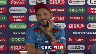 Gulbadin Naib -  Captain Lost The Match For Afg  | PAK Vs AFG | World Cup