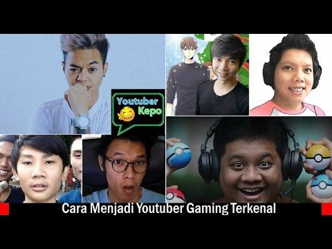 Video Belajar Cara Menjadi Youtuber Gaming Sukses dari Reza Oktovian, Miawaug, Tara Arts, dll