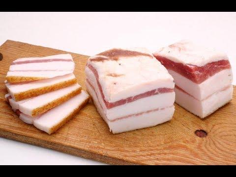 ★ Как выбрать хорошее САЛО.  6 советов от опытного свиновода. Не забудь на базар спички