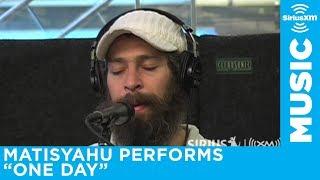 """Matisyahu """"One Day"""" Live at SiriusXM. Best Hasidic Jewish Reggae Beatboxing Ever."""
