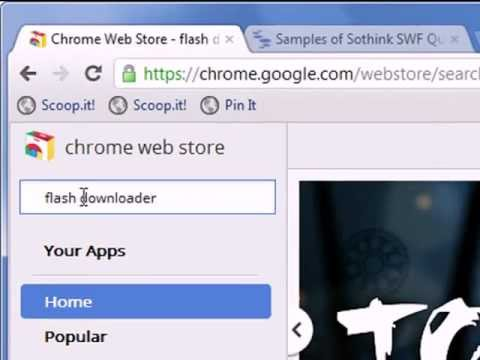 Flash downloader.
