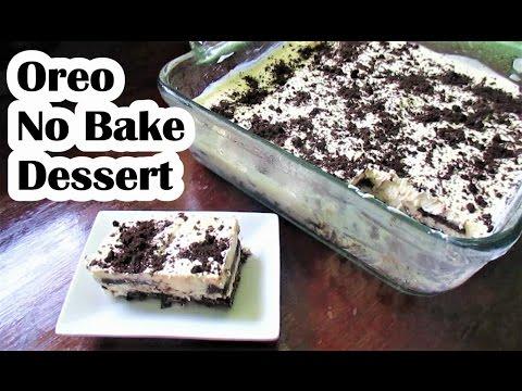 Oreo No Bake Dessert