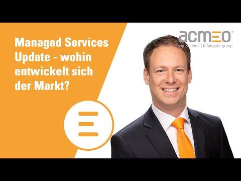 Wohin entwickelt sich der Managed Services IT-Markt?