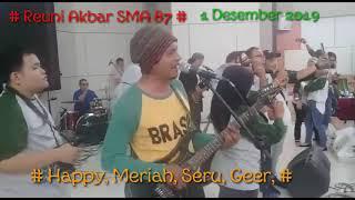 # VIRAL,, X Team Band Humor, Reuni Akbar Sma 87