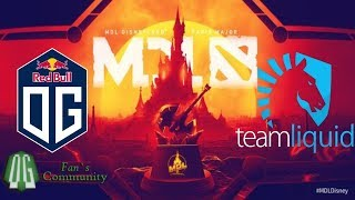 OG vs Liquid - Game 1 - MDL Disneyland Paris Major - Playoff.
