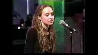 Fiona Apple -  April 1997 - Criminal (live) +Interview