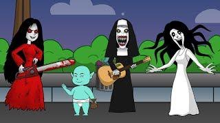Download Video Kompilasi Kartun Horor Lucu Kuntilanak, Tuyul, Valak, Kuntilanak Merah #02 MP3 3GP MP4