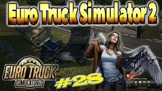 Находим путь из затора на горной дороге в Швейцарии #28 - Euro Truck Simulator 2