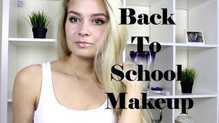 BACK TO SCHOOL | БЫСТРЫЙ и НАТУРАЛЬНЫЙ МАКИЯЖ на каждый день