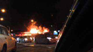 INSANE MONTREAL FIRE EXPLOSIONS ON DECARIE! (Original Video)