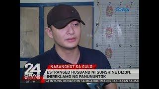 Estranged husband ni Sunshine Dizon, arestado matapos masangkot sa gulo