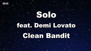 Solo Feat. Demi Lovato   Clean Bandit Karaoke 【No Guide Melody】 Instrumental