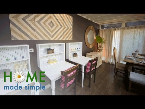 Get Rustic, Farmhouse Decor With These DIY Art Panels | Home Made Simple | Oprah Winfrey Network