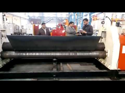 Operation Plate Bending Machine