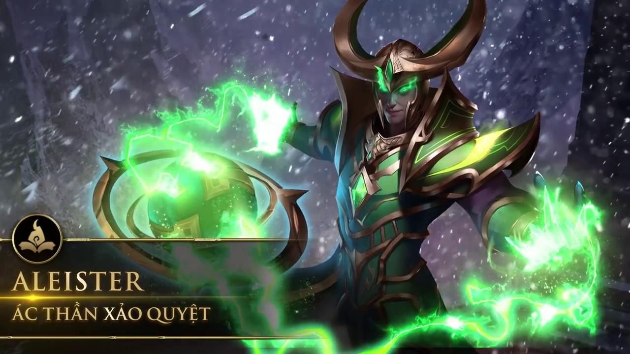 Liên Quân mobile ra mắt tướng mới Aleister – Ác thần quỷ quyệt