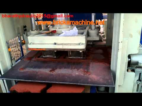 Automatic Inter-Locking Color Paver Block Making Machine 4cvt - Bha-402f