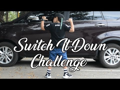 Switch It Down Dance Challenge | Nhikzy Calma X Daddy Yow X Mommy Yow #FamilyGoals