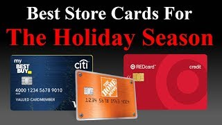 5 Must Have Store Credit Cards for THIS Holiday Shopping Season