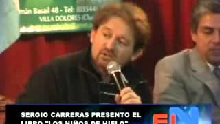 SERGIO CARRERAS PRESENTO EL LIBRO LOS NIÑOS DE HIELO