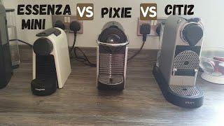 Essenza Mini vs Pixie vs Citiz   Which Nespresso Coffee Machine Is Best For You?   OriginalLine