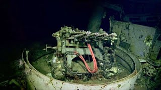USS Hornet (1940) was discovered at a depth of 5200 m