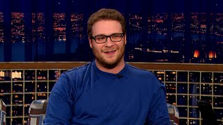 "Seth Rogen Was Thrilled When He Discovered Cross Joints - ""Late Night With Conan O'Brien"""