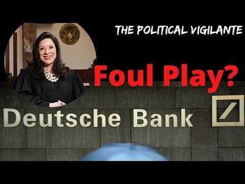 Did Deutsche Bank Try Killing Epstein Lawsuit Judge?