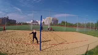 Пляжка тренировка офп  + отработка приема Пляжный волейбол 20180512