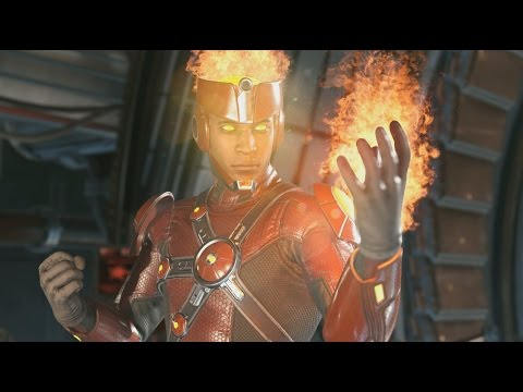 Injustice 2 avec Firestorm