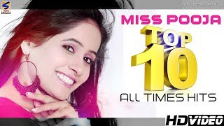 Miss Pooja New Punjabi Songs 2016 Top 10 All Times Hits  NonStop HD Video  Punjabi Songs