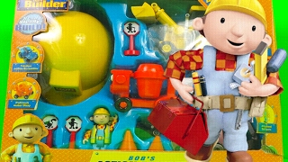 Bob The Builder Mega Toy Set Unboxing with Muck and Dizzy