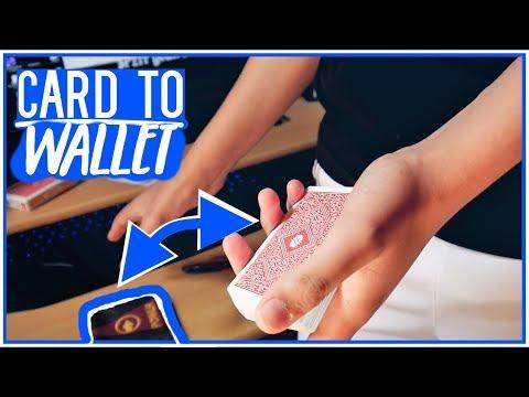 KARTE ERSCHEINT IM GELDBEUTEL! [Card To Wallet] | Kartentricks mit Auflösung