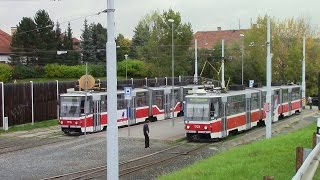 preview picture of video 'Scenes from the Brno Tram & Trolleybus System Part 2'