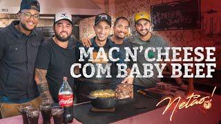 Mac NCheese Com Baby Beef | Netão! Bom Beef #52
