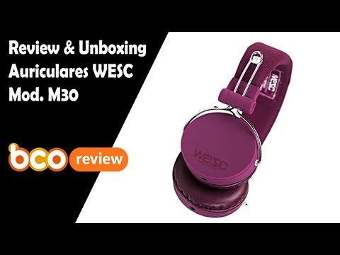 Unboxing & Review WESC M30