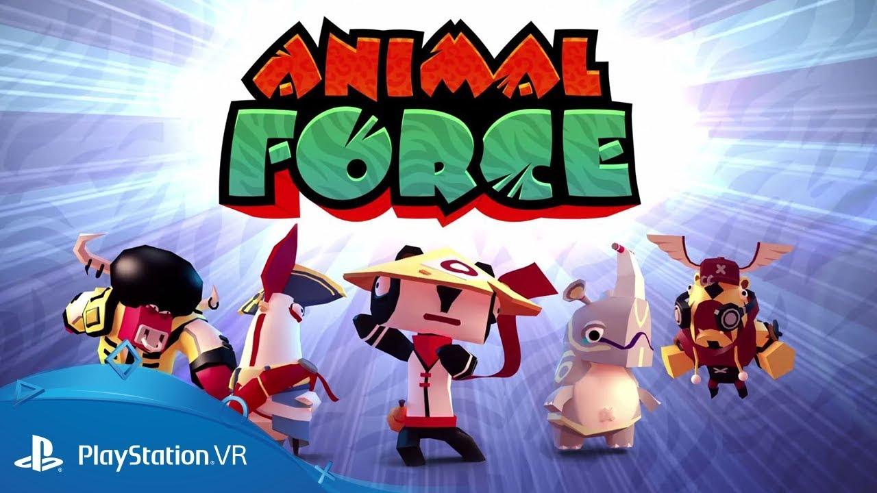 Animal Force, le jeu de combat et de stratégie en temps réel complètement décalé sera disponible dès le 22 mai, en exclusivité sur PS VR