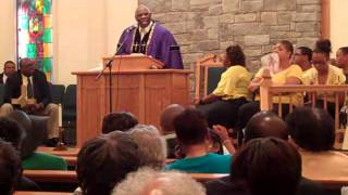 Rev. Foddrell Brings The Word to WBC