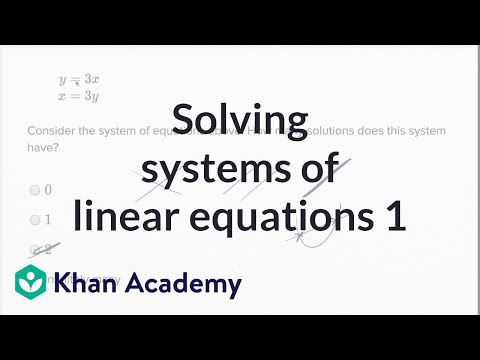 Solving systems of linear equations by elimination ppt video.