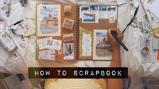 DIY HOW TO SCRAPBOOK