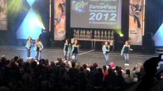 preview picture of video 'Zombie Kids Finale bei der EM 2012 in Donaueschingen'