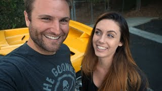 I take Erica on our FIRST public date in the Lambo   Rob Dahm